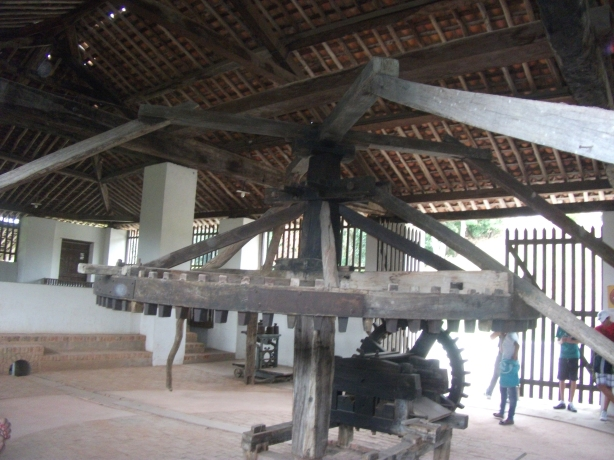 Aula de campo no Centro Histórico de Areia